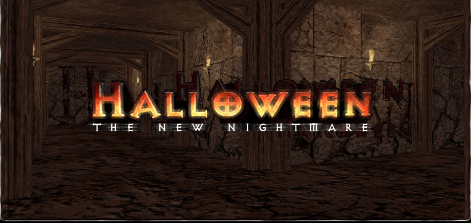 halloween 3D game title